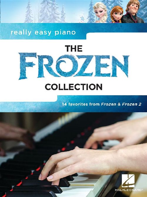 Really Easy Piano: The Frozen Collection - Piano Facile