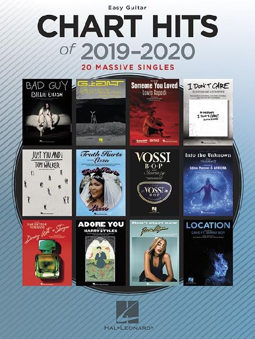 CHART HITS OF 2019-2020 - GUITAR