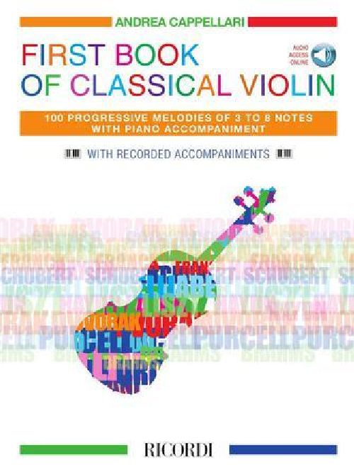 First Book Of Classical Violin - Violon Et Piano