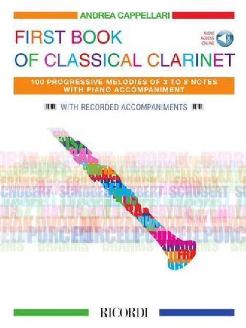 First Book Of Classical Clarinet - Clarinette Et Piano