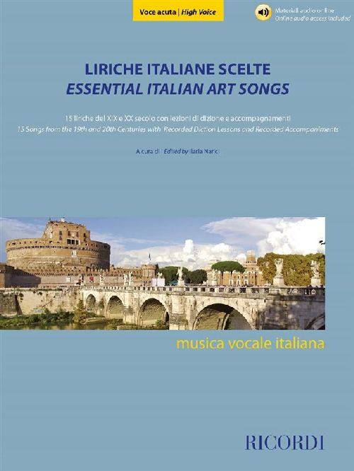 LIRICHE ITALIANE SCELTE - VOCE ACUTA - VOCAL AND PIANO