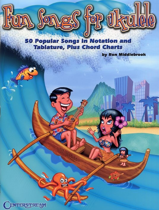 MIDDLEBROOK RON - FUN SONGS FOR THE UKULELE - VOICE