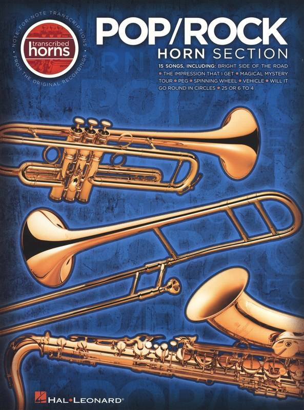 Pop/rock Horn Section (saxophone, Trumpet) Transcribed Horns