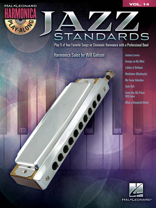 Jazz Standards - Harmonica Play Along Vol.14 + Cd