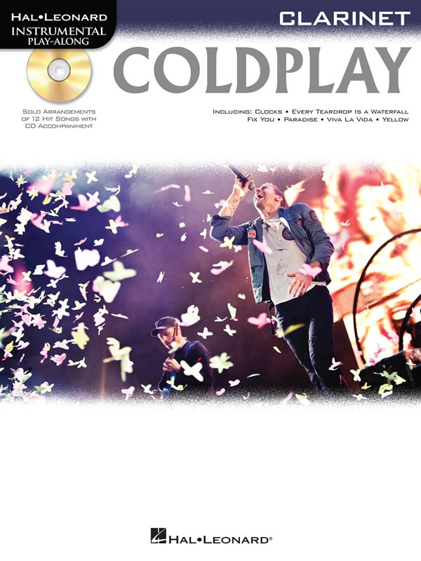 Instrumental Play Along - Coldplay + Cd - Clarinet