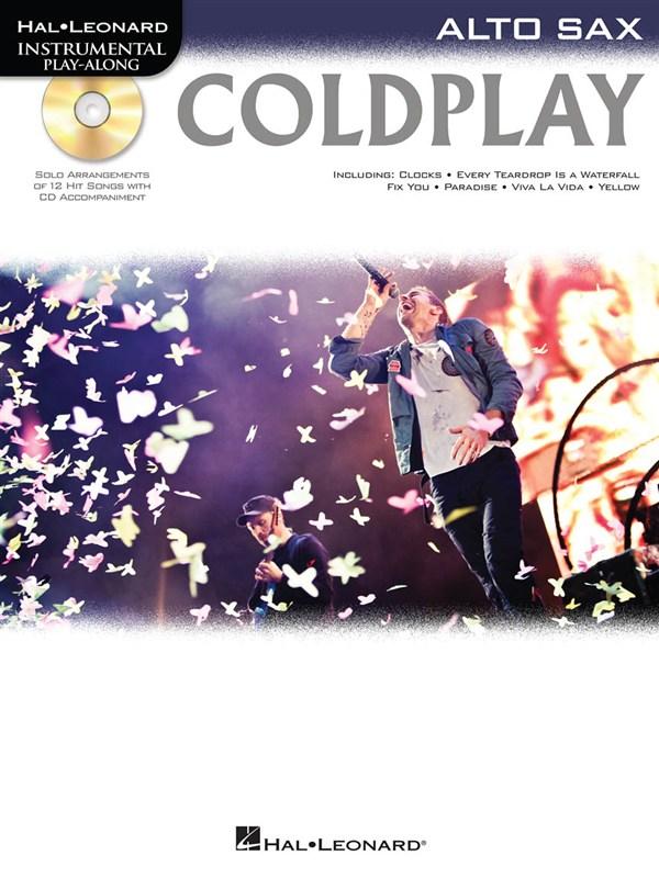 Instrumental Play Along - Coldplay + Cd - Alto Saxophone