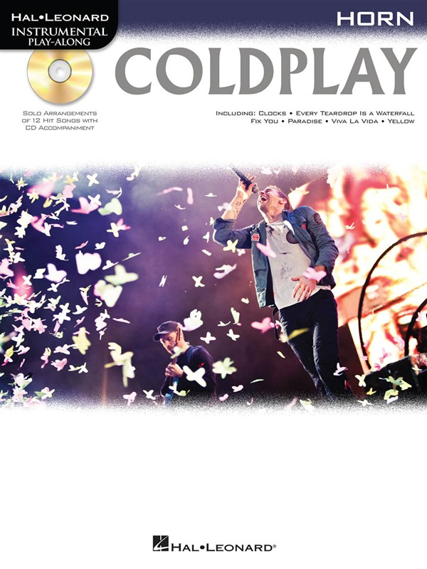 Instrumental Play Along - Coldplay + Cd - Horn
