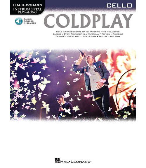 Instrumental Play Along - Coldplay + Cd - Cello