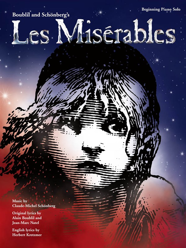 BOUBLIL AND SCHONBERG - LES MISERABLES - BEGINNING PIANO SOLO - PIANO SOLO