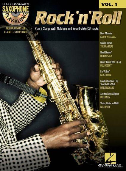 Saxophone Play Along Vol.1 - Rock 'n' Roll + Cd