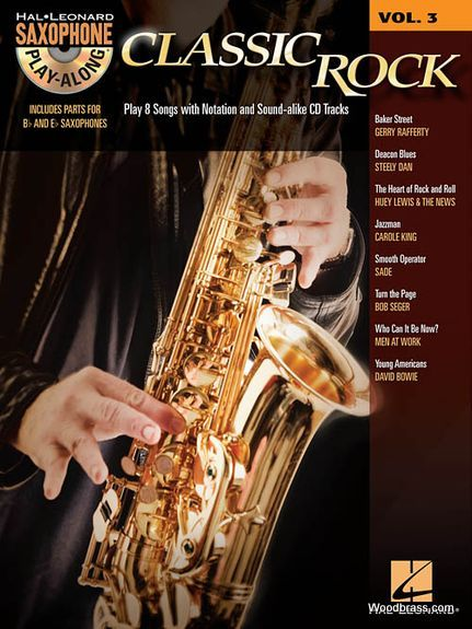 Saxophone Play Along Vol.3 - Classic Rock + Cd