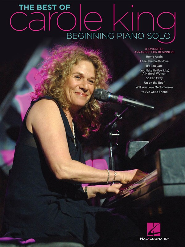 KING CAROLE THE BEST OF BEGINNING PIANO SOLO SONGBOOK - PIANO SOLO