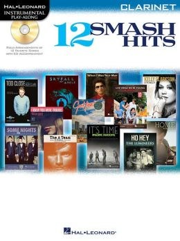 Instrumental Play Along - 12 Smash Hits + Cd - Clarinet
