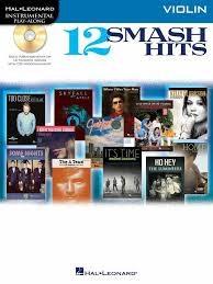 Instrumental Play Along - 12 Smash Hits + Cd - Violin