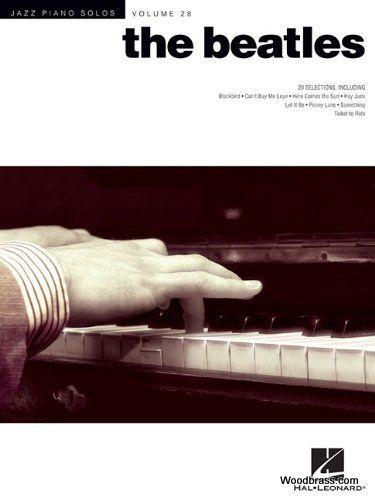Jazz Piano Solos Vol.28 - The Beatles