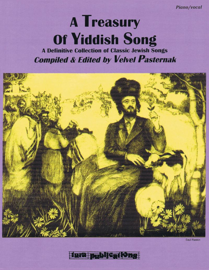 A Treasury Of Yiddish Song - Pvg