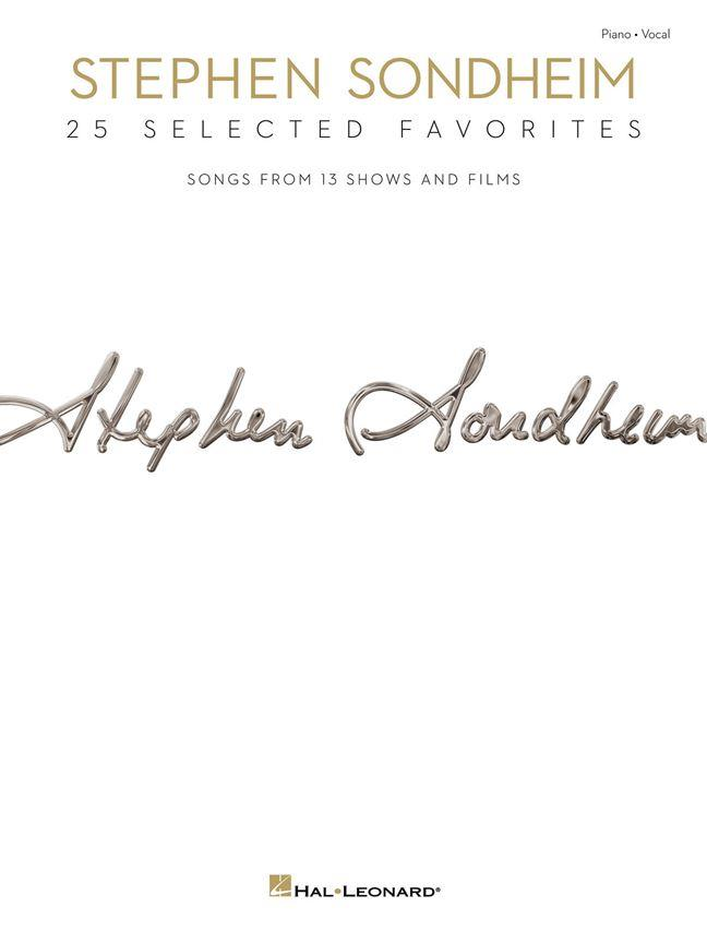 STEPHEN SONDHEIM - 25 SELECTED FAVORITES - PVG
