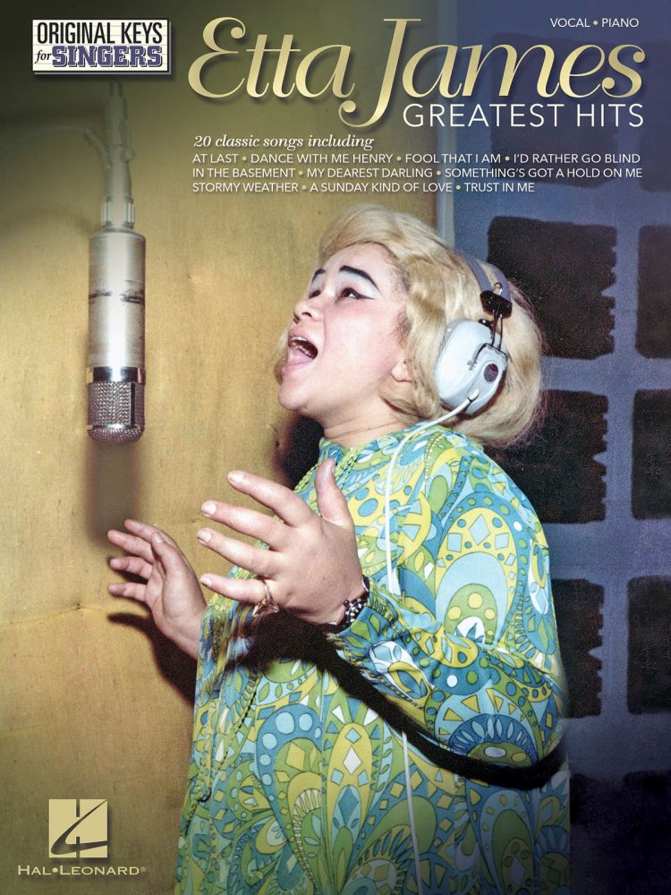 ETTA JAMES - GREATEST HITS - PVG