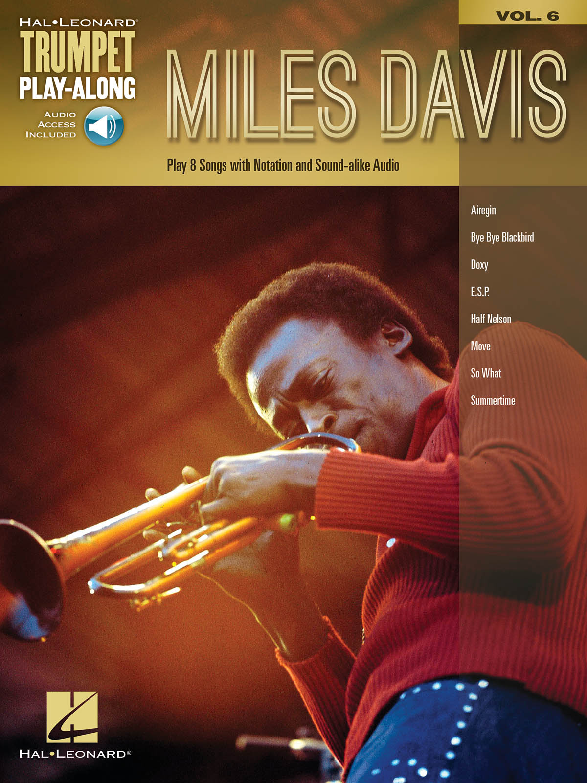 Miles Davis -  Trumpet Play-along Vol.6