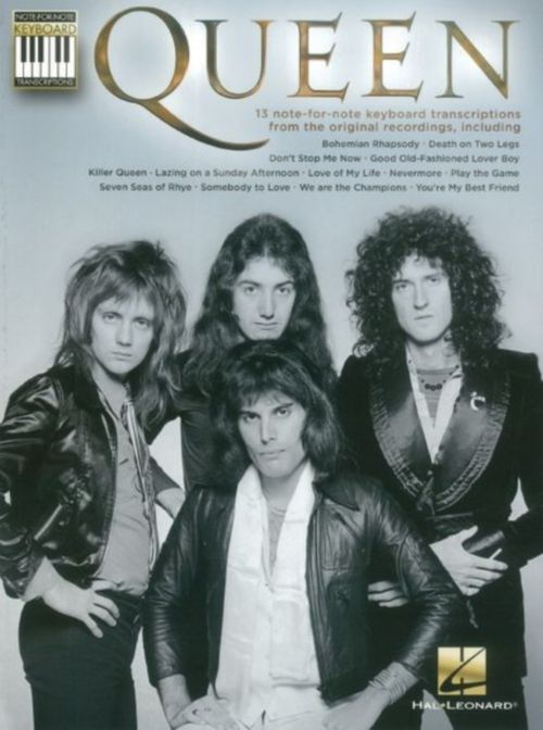 QUEEN - NOTE FOR NOTE KEYBOARD TRANSCRIPTIONS