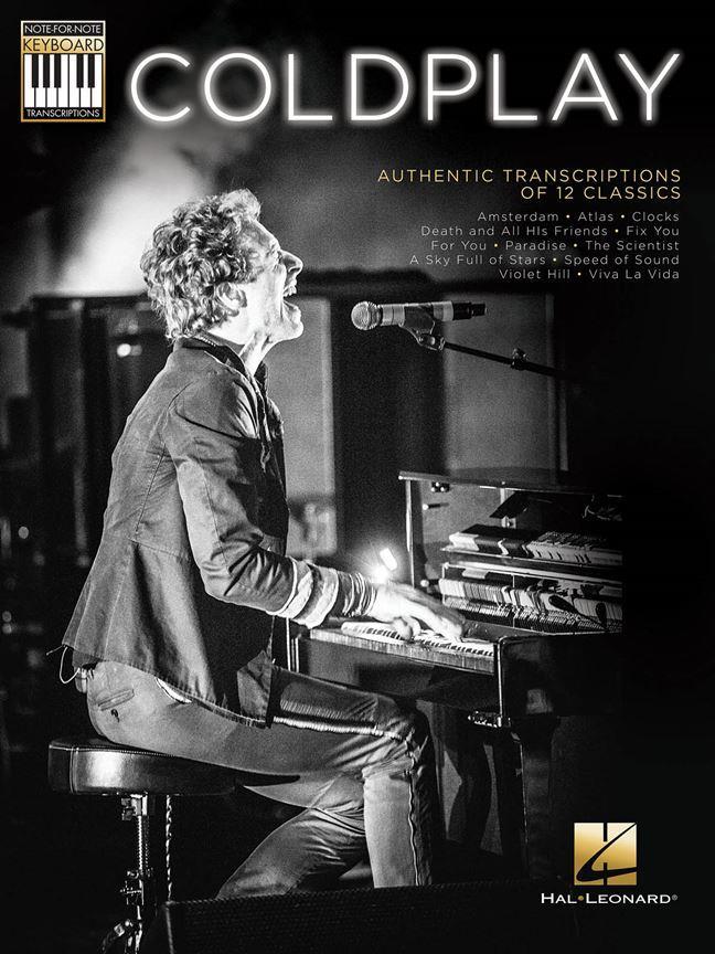 Coldplay - Authentic Transcriptions Of 12 Classics - Piano