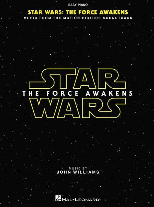 JOHN WILLIAMS - STAR WARS THE FORCE AWAKENS - EASY PIANO