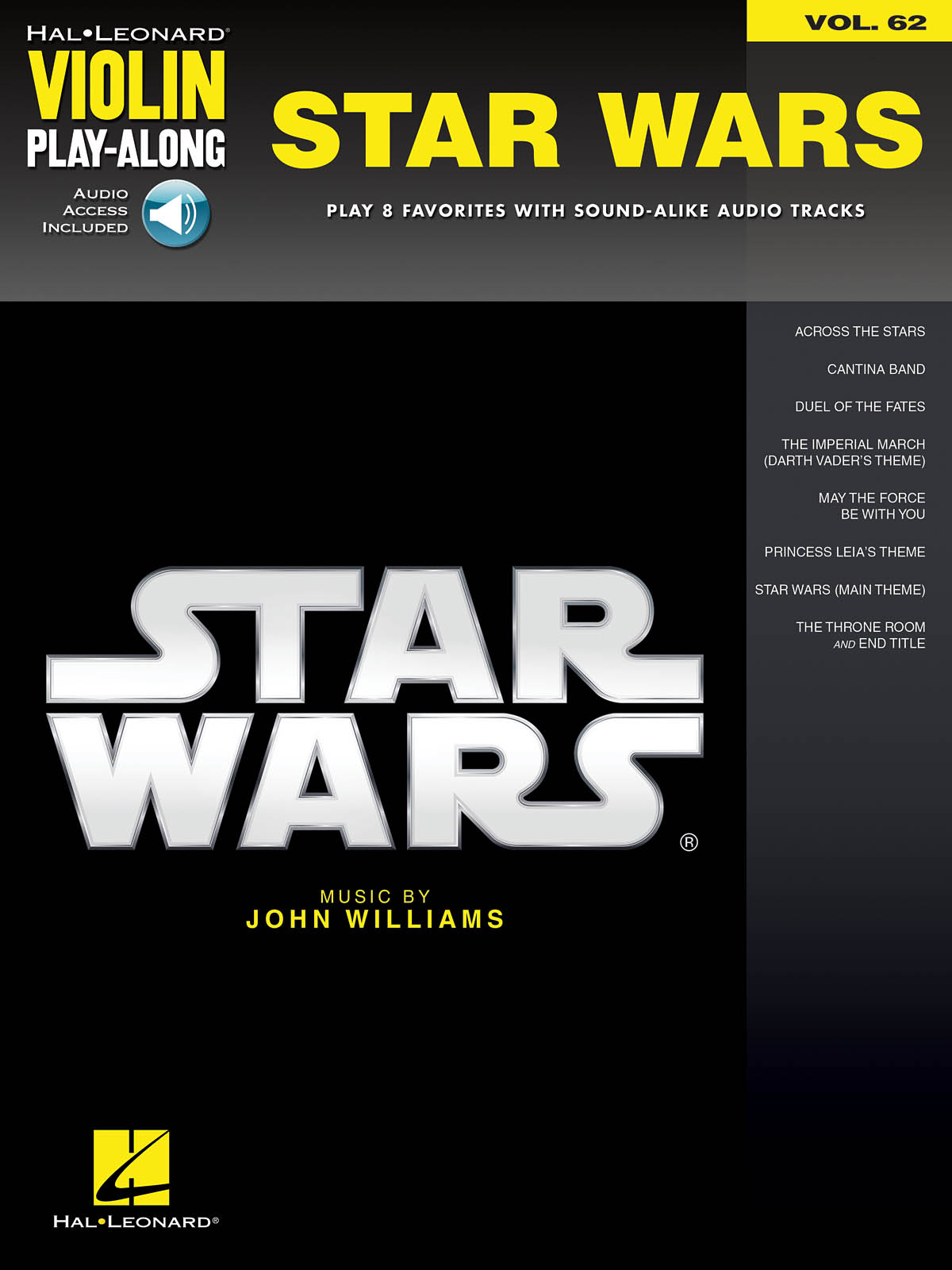 Williams John - Star Wars  -  Violin Play Along - Violon