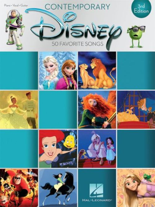 CONTEMPORARY DISNEY 3RD EDITION - PVG