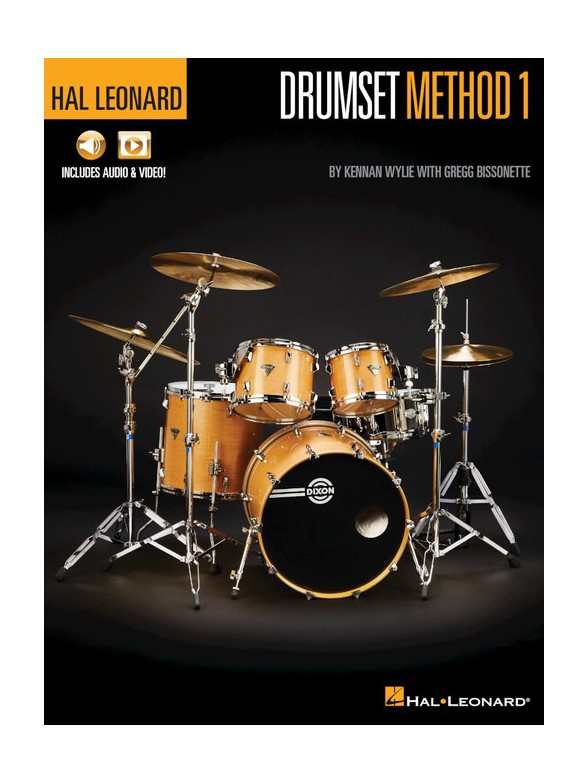 Wylie K. and Bissonette G. -  Drumset Method Book 1