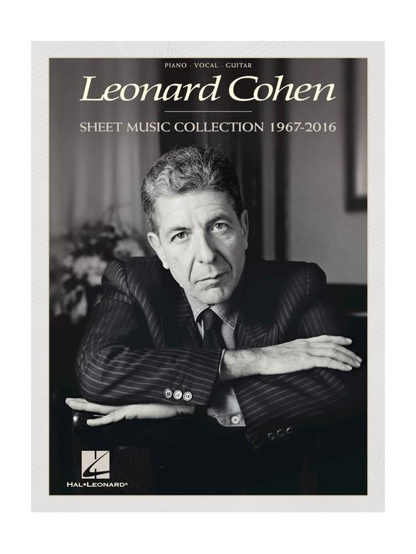 Leonard Cohen - Sheet Music Collection (1967-2016) - Pvg