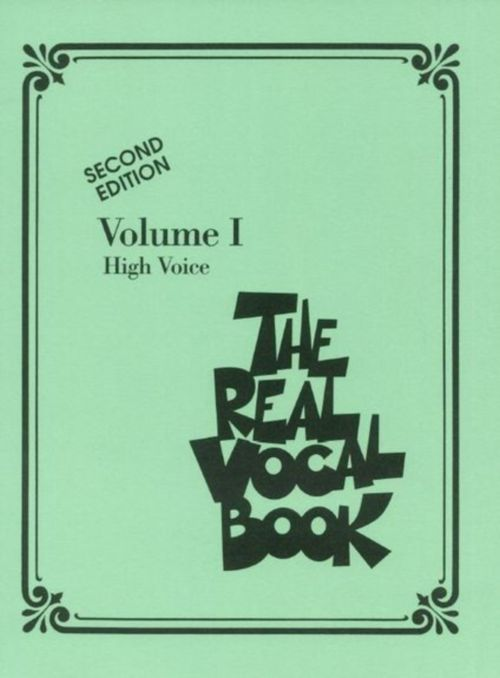 REAL VOCAL BOOK VOL.1 - HIGH VOICE