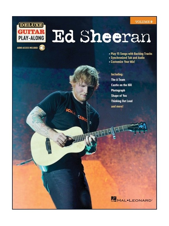 Ed Sheeran - Deluxe Guitar Play-along Vol.9