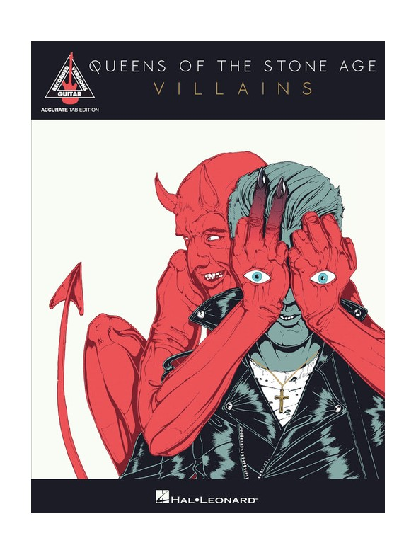Queens Of The Stone Age - Villains - Guitare Tab