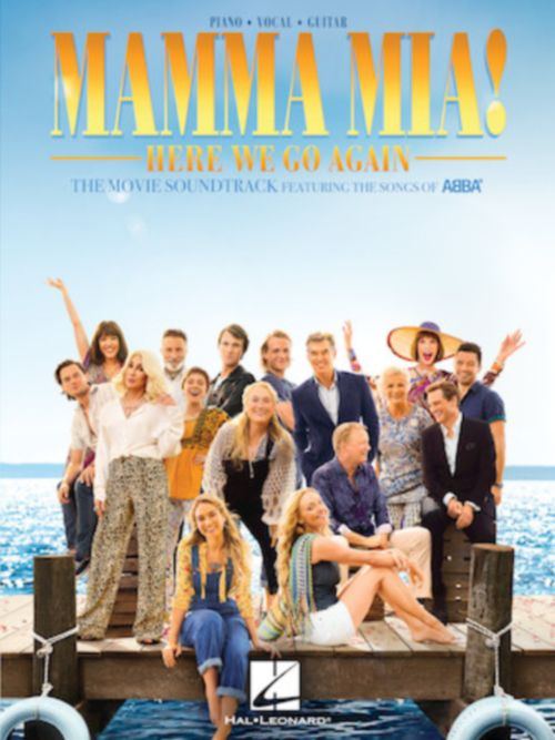 ABBA - MAMMA MIA ! HERE WE GO AGAIN - MOVIE SOUNDTRACK - PVG