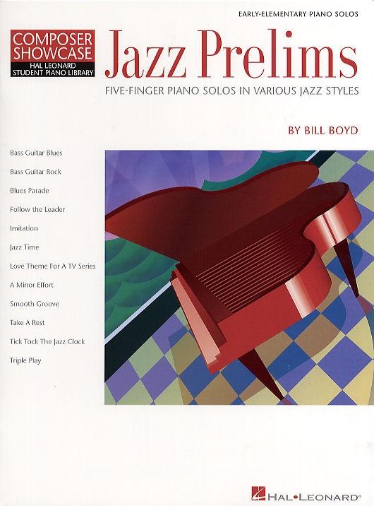 Boyd Bill - Jazz Prelims -  Student Piano Library - Piano Solo