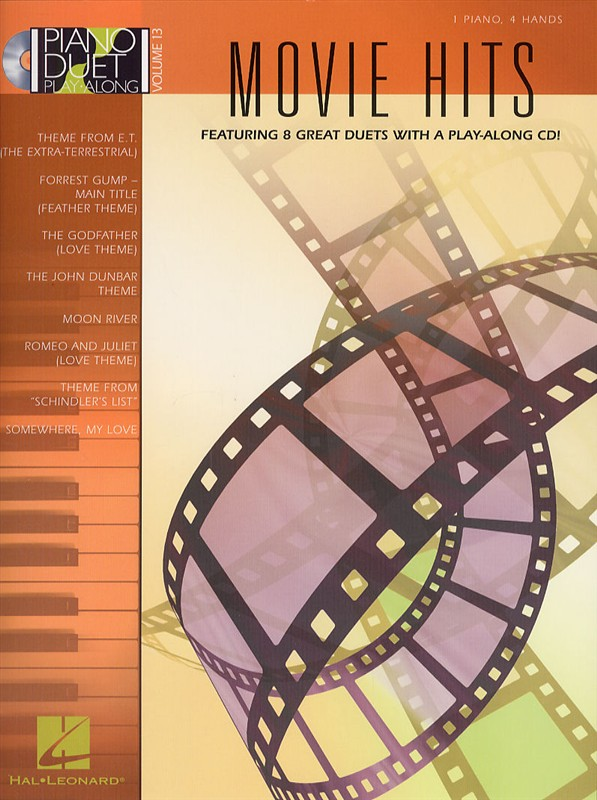 MOVIE HITS + CD - PIANO DUET