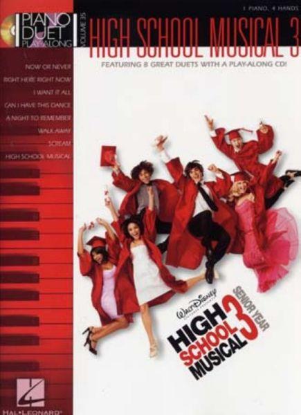 High School Musical 3 Piano Duet Play Along Vol.35 + Cd