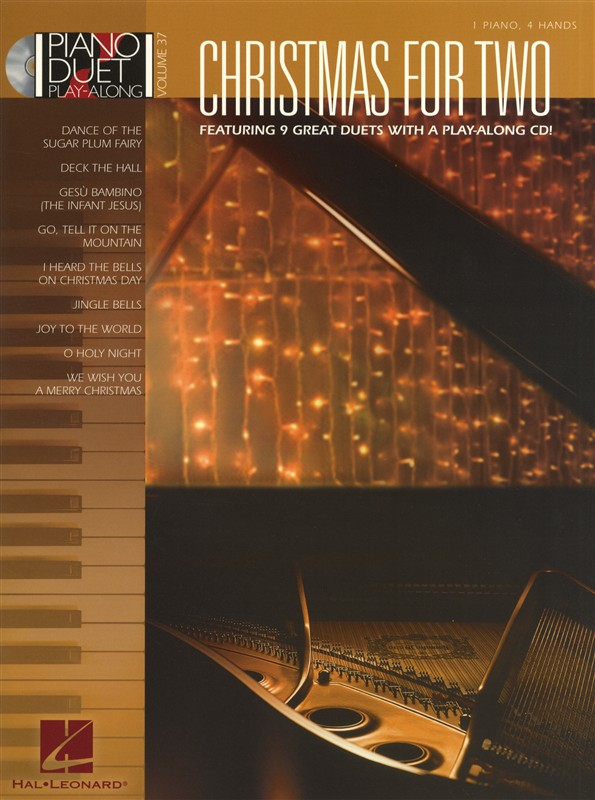 CHRISTMAS FOR TWO - PIANO DUET PLAY-ALONG VOLUME 37 - PIANO DUET