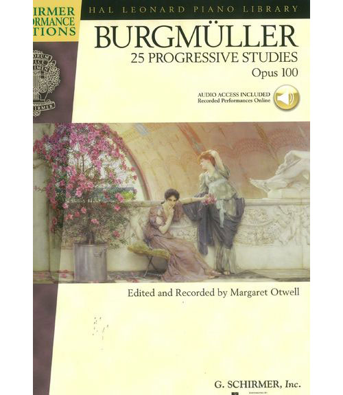 BURGMULLER J.F. - 25 PROGRESSIVE PIECES OP.100 + MP3 - PIANO