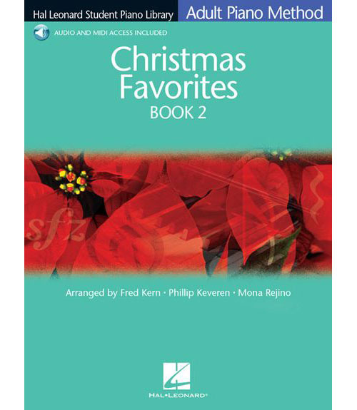 ADULT PIANO METHOD - CHRISTMAS FAVOURITE + MP3 - BK. 2 - PIANO SOLO