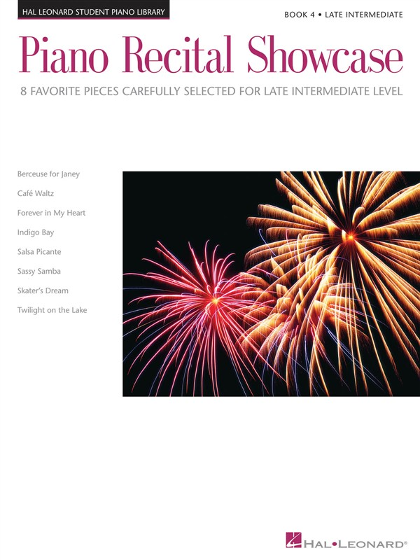 Piano Recital Showcase - Book Four: Late Intermediate Level