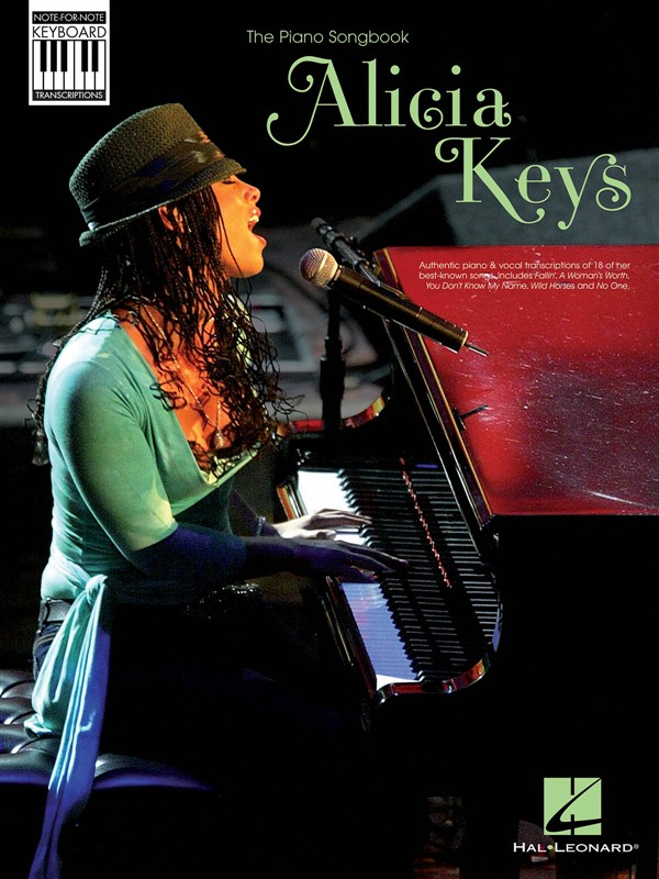 KEYS ALICIA NOTE FOR NOTE KEYBOARD TRANSCRIPTIONS - PIANO SOLO
