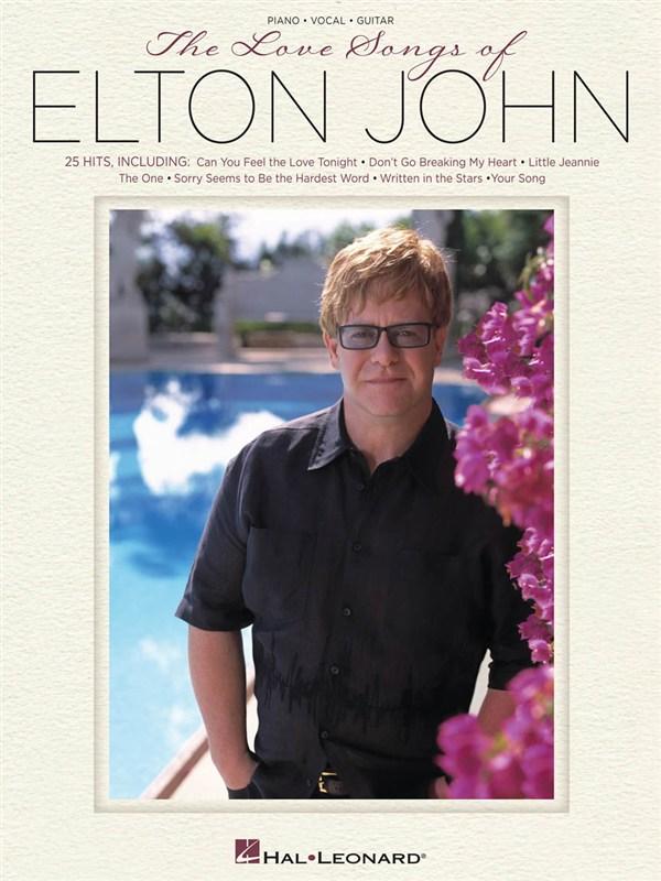 The Love Songs Of Elton John Pvg Artist Songbook - Pvg