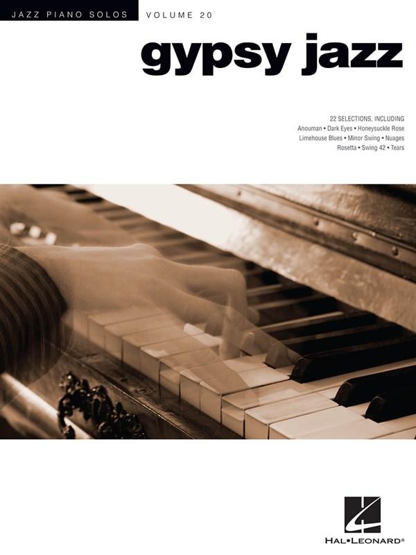 Jazz Piano Solos Series Volume 20 Gypsy Jazz - Piano Solo