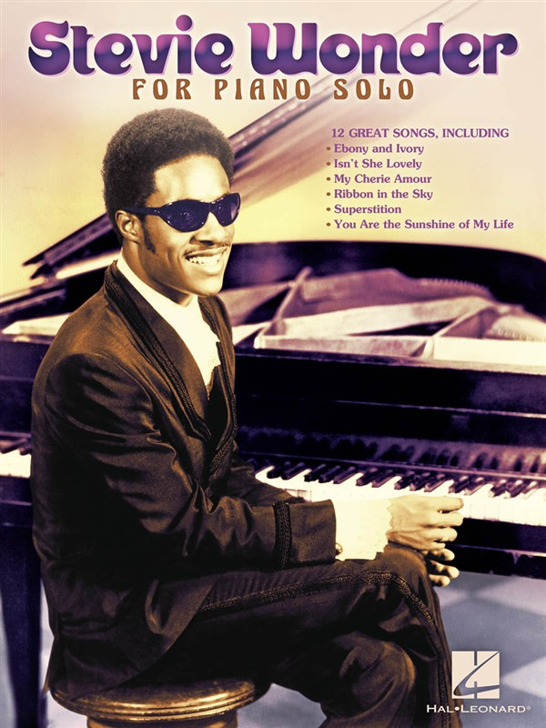 WONDER STEVIE FOR PIANO SOLO PF SOLO PERSONALITY - PIANO SOLO