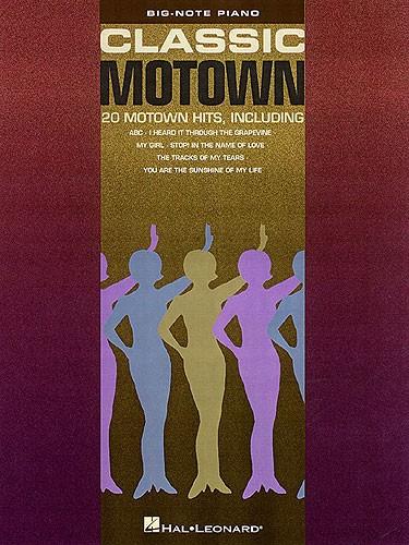 Classic Motown Big Note Songbook - Piano Solo