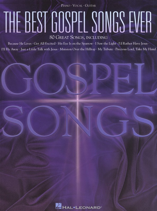 THE BEST GOSPEL SONGS EVER 80 SONGS - PVG