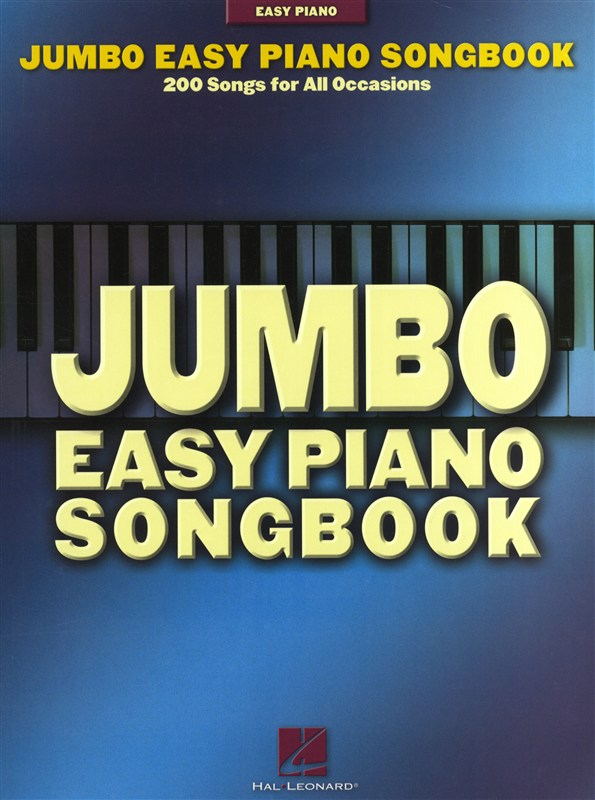 Jumbo Easy Piano Songbook 200 Songs For All Occasions - Piano Solo