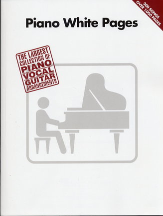 PIANO WHITE PAGES - PVG