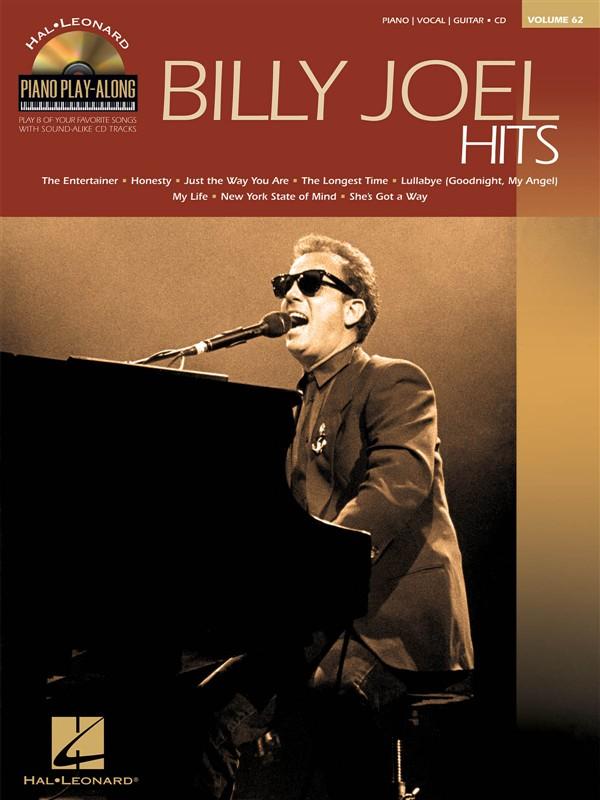 Piano Play Along Volume 62 - Billy Joel Hits + Cd - Pvg